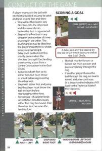 netball rule book 2016 pdf