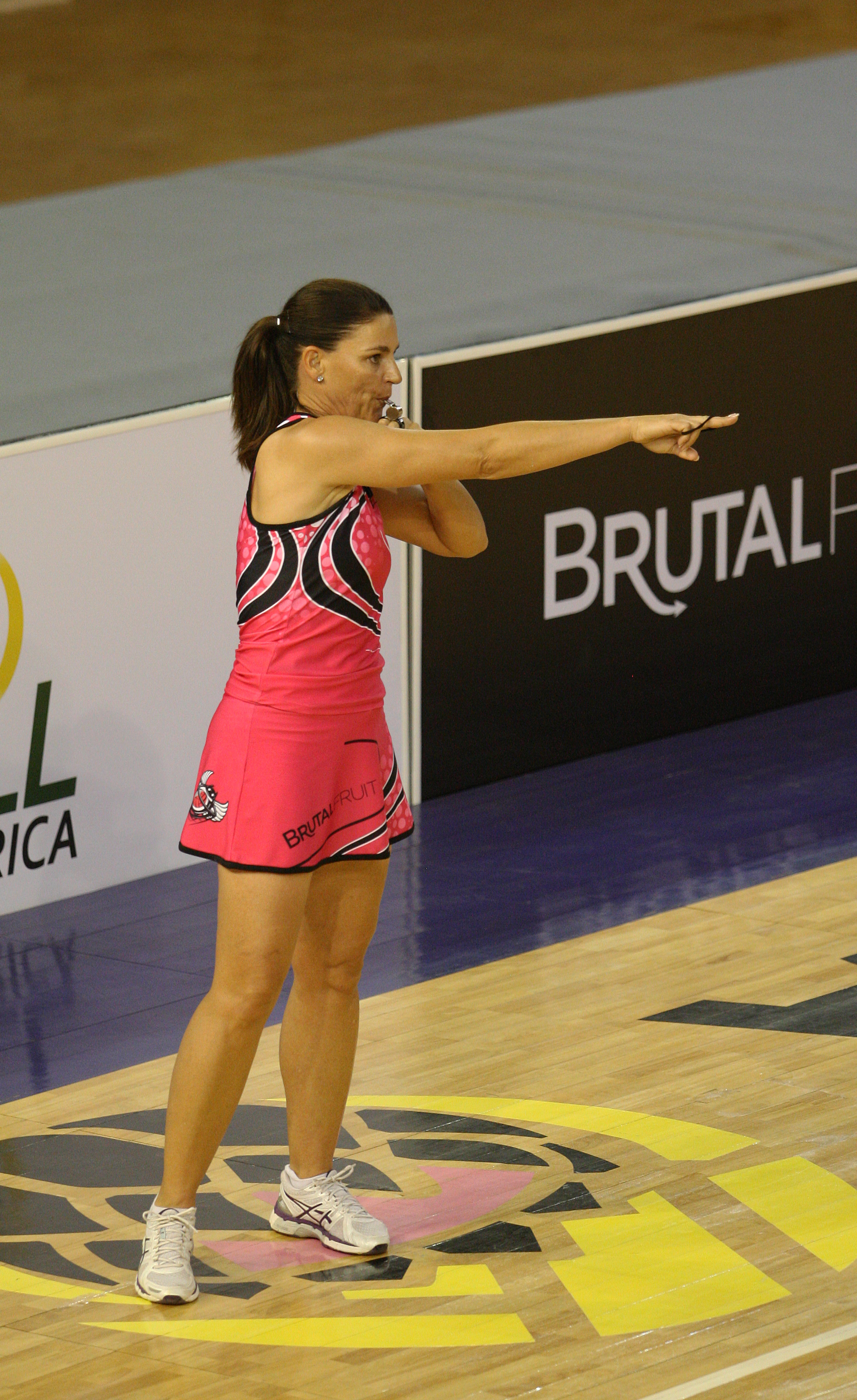 3# - Practice on Court - Netball Rules